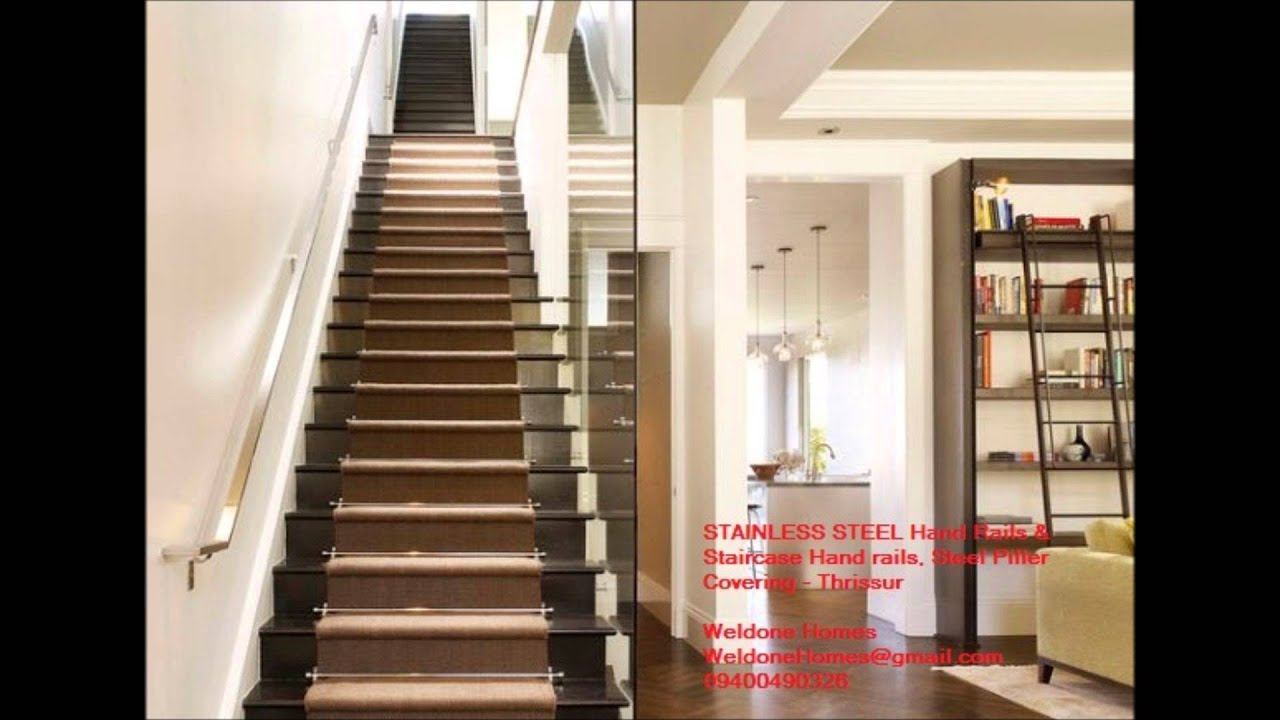 THRISSUR  09400490326  Modular Kitchen, HandRails STAINLESS STEEL Finish    ACRYLIC  MDF    YouTube