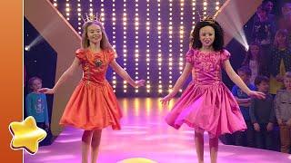 Kijk Amber en Brenthe dansen Naar het bal filmpje