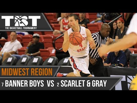 2017 TBT Midwest Region Recap - #7 Banner Boys vs #2 Scarlet and Gray