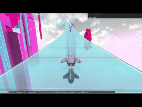 06. Porter Robinson - Polygon Dust In Audiosurf 2