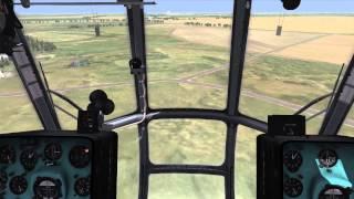 DCS: Сетевой вылет на Ми-8МТВ2 (mi-8)