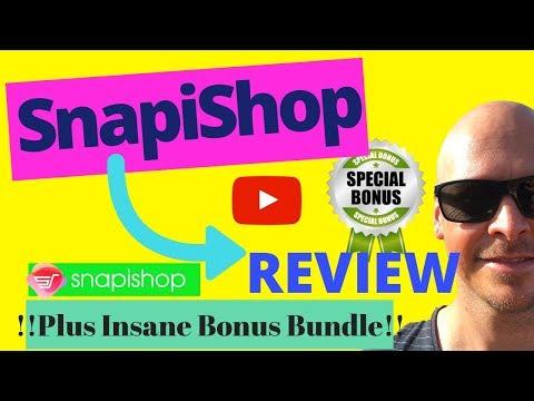 SnapiShop Review ⚠️WARNING⚠️ DO NOT BUY [SnapiShop] . http://bit.ly/2Zmx1hu