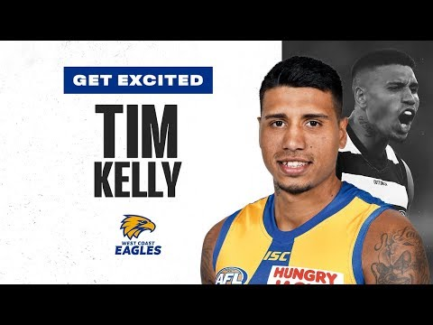 Get Excited, Eagles: The best of star recruit Tim Kelly | Trade Period | 2019 | AFL