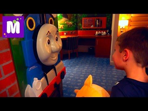ВЛОГ На машине к Томасу Мороженое из МакДональдса Kit Kat и OREO отель как в мультике Томас и Друзья