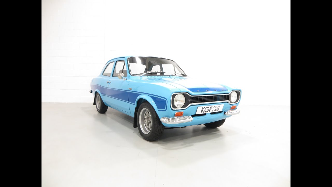 A Genuine AVO Mk1 Ford Escort RS2000 Presented in Impeccable ...