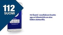 Päivystysnumerot: 112 Suomi -sovelluksesta apua eri tilanteisiin