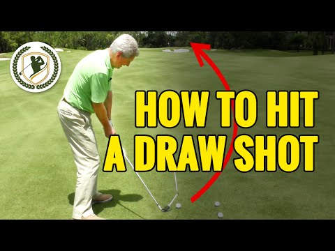 HOW TO HIT A DRAW SHOT IN GOLF – PGA TOUR SWING TIPS