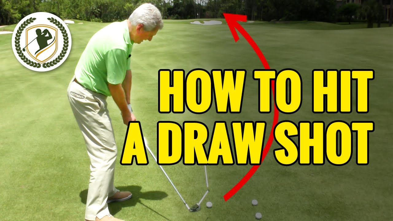 youtube how to hit a draw with driver