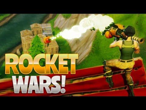 ROCKET WARS! (Fortnite Battle Royale)