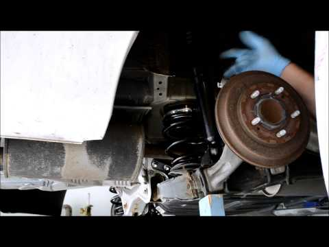 Rear Coilover Shock Length Setting - 2006-11 Civic