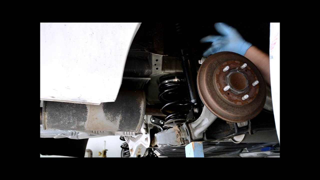 Rear Coilover Shock Length Setting 2006 11 Civic Youtube
