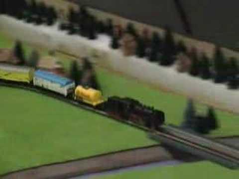 Z Scale Marklin train at the Kitchener Train Show