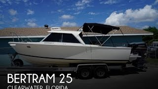 [SOLD] Used 1970 Bertram 25 in Clearwater, Florida