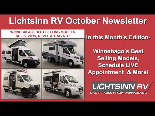 LichtsinnRV.com - Winnebago's Best Selling Models, Schedule a Live Appointment & More