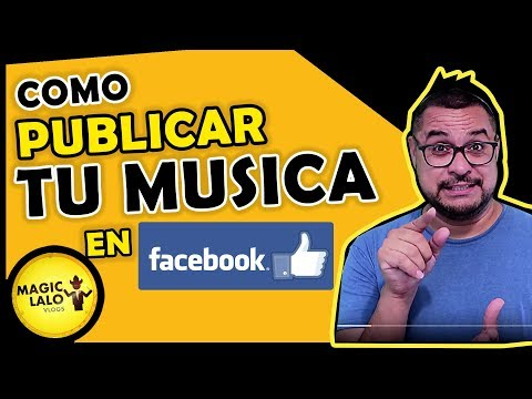 Como publicar TU MUSICA EN FACEBOOK para mas VISTAS