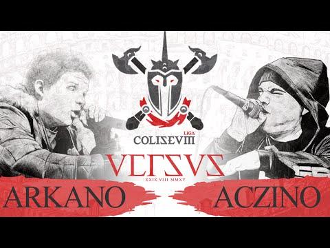 Aczino Vs Arkano | COLISEVM (Video Oficial) Host por Mbaka
