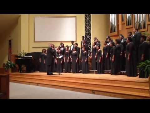 Claflin University Concert Choir-Hold Fast to Dreams (R. Carter)