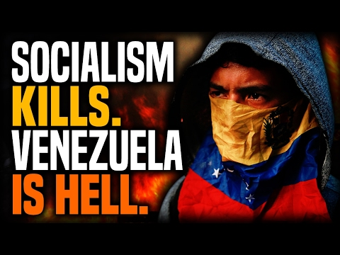 Stefan Molyneux - Socialism Kills. Venezuela Is Hell.