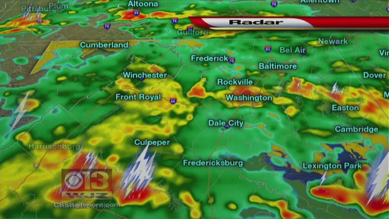 First Warning Weather Radar Youtube