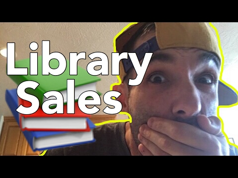 📚💰 How to Kill it at Friends of the Library book sales FOL - Bookseller Tips - Sourcing Books sale