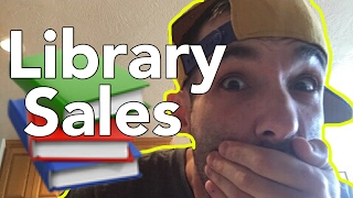 Library Book Sale Tips - How to Dominate FOL Booksales