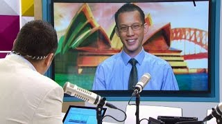 Eddie Woo on The AM Show (New Zealand)