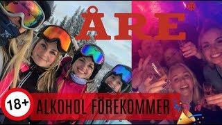 Spårad festresa till Åre med skolan