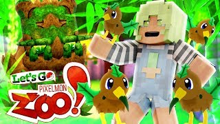 Let's Go Pixelmon Zoo ♦ KIWEED, A BRAND NEW POKEMON! (Minecraft Pokemon Roleplay Ep 6)