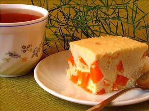 Тыквенно-творожный десерт.Тыквенный пирог. Рецепт пирога.Kabak pastası