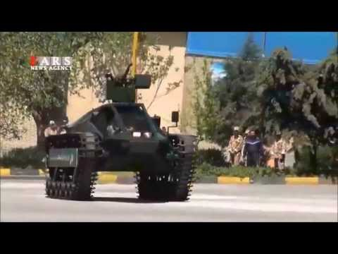 Iranian made Fallagh ultra light tracked combat vehicle remote weapon station