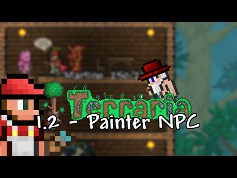 Terraria 1.2 - Painter NPC - ChippyGaming - Terraria WIKI