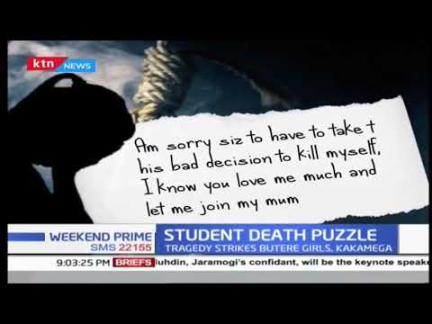 Form three student commits suicide at Butere Girls High School thumbnail