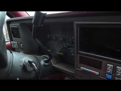 94 Chevy Pickup-Find The Factory Tach Wire