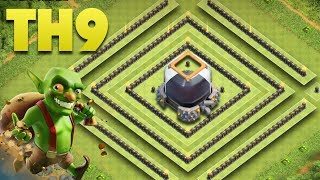 TH9 Dark Elixir Farming Base Anti Lavaloon | Town Hall 9 Saving Protecting DE | Clash Of Clans