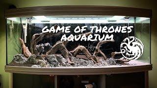 Game of Thrones Aquarium | Aquascaping Step by Step Tutorial - Dragon Aquascape 🐉