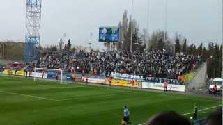 Автопробег до матча Севастополь - Нефтяник 3:1 и стадион