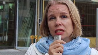 Rehtori Kirsi Myllymäki kehuu Jätkäsaaren koulun tiloja