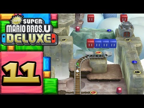 New Super Mario Bros. U Deluxe ITA [Parte 11 - Miniere di caramella]