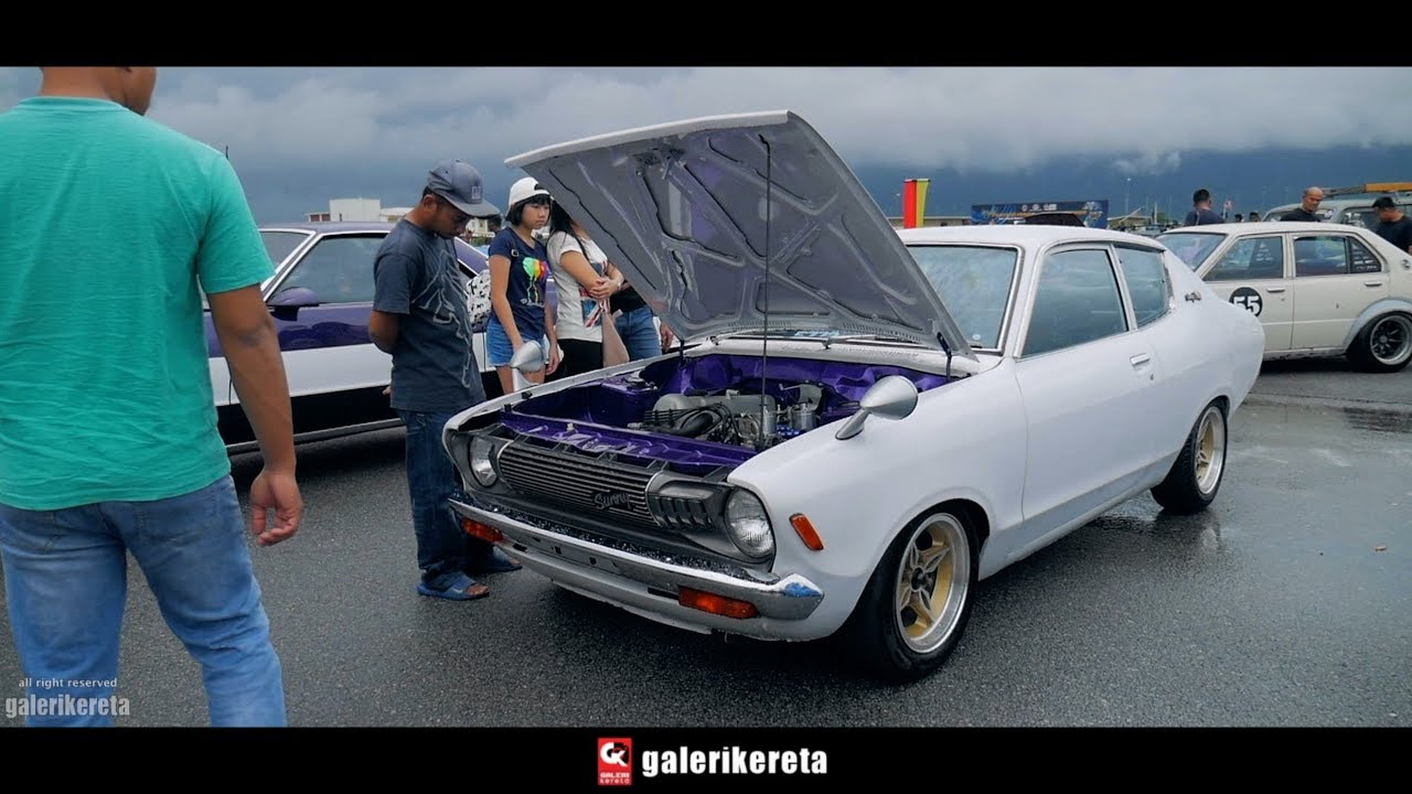 Nissan Sunny Gl B210 Clean Engine Bay Youtube