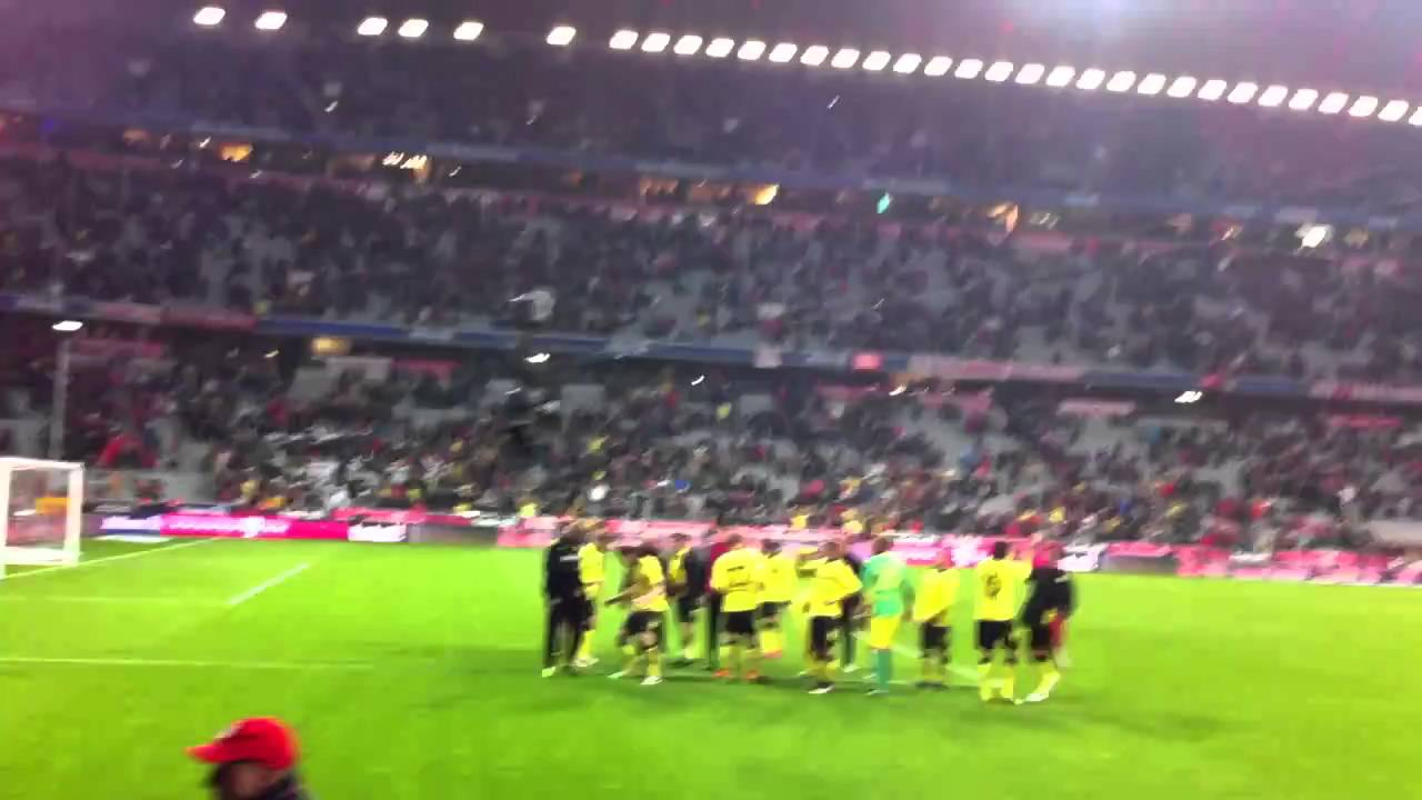 Borussia BVB - Bayern 26.02.2011 BVB Spielerjubel