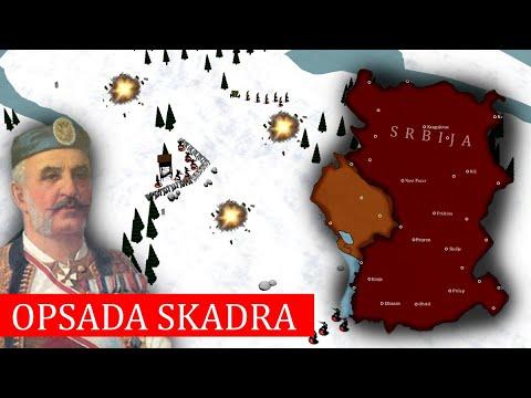 Balkanski ratovi: Opsada Skadra 1912-1913. (DOKUMENTARAC)