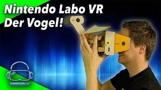 Wir bauen und testen den Nintendo Labo VR Vogel! [Nintendo LABO Toy-Con 04 VR KIT]