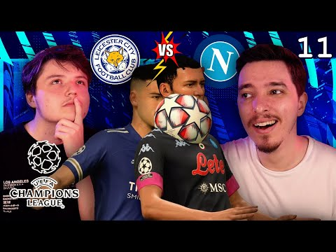 DEBUT FURTUNOS IN UEFA CHAMPIONS LEAGUE! LEICESTER VS NAPOLI! CARIERA CU LEICESTER #11 / FIFA 21