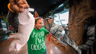 SPENT MY BIRTHDAY FEEDING GIANT SNAKES!! | BRIAN BARCZYK