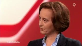 B. von Storch gibt pfiffige Antwort auf doofe GEZ-Frage von Maischberger