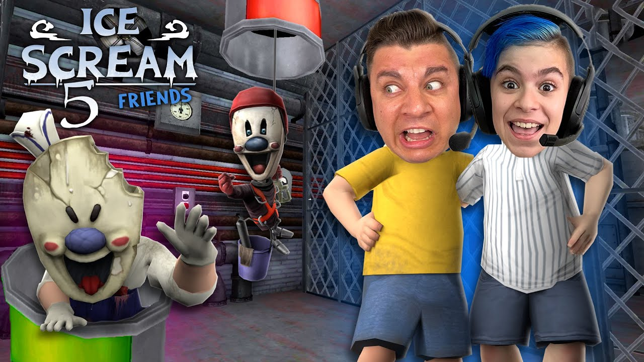 Download PLAYING AS BOTH MIKE AND J in ICE SCREAM 5 FRIENDS! Ice Scream 6 Confirmed