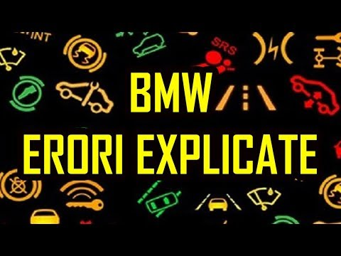 Bmw Car Signs Warning Images What Your Bmw Dashboard - Bmw car signs warning