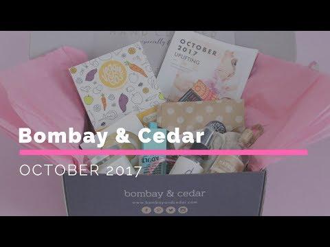 Bombay & Cedar Subscription Box Unboxing October 2017