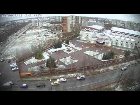 Стрежевой 2011г. первый снег