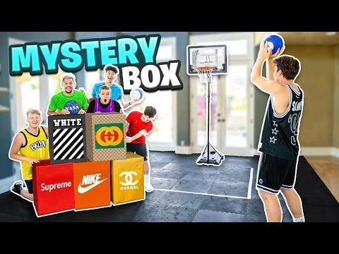 Last To Miss MINI HOOP SHOT Wins Mystery BOX!